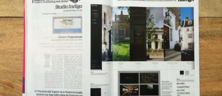 Our latest web design features in web designer magazine